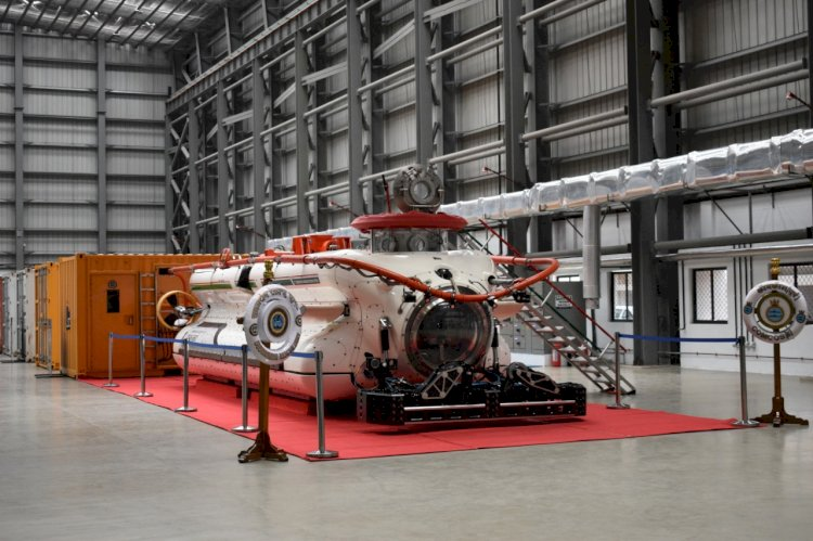 Deep Submergence Rescue Vehicle Complex Inaugurated at Visakhapatnam