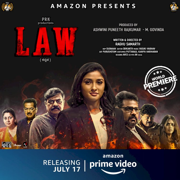 *Amazon Prime Video first Kannada direct-to-service release, _Law_ to now premiere on 17th July, 2020*
