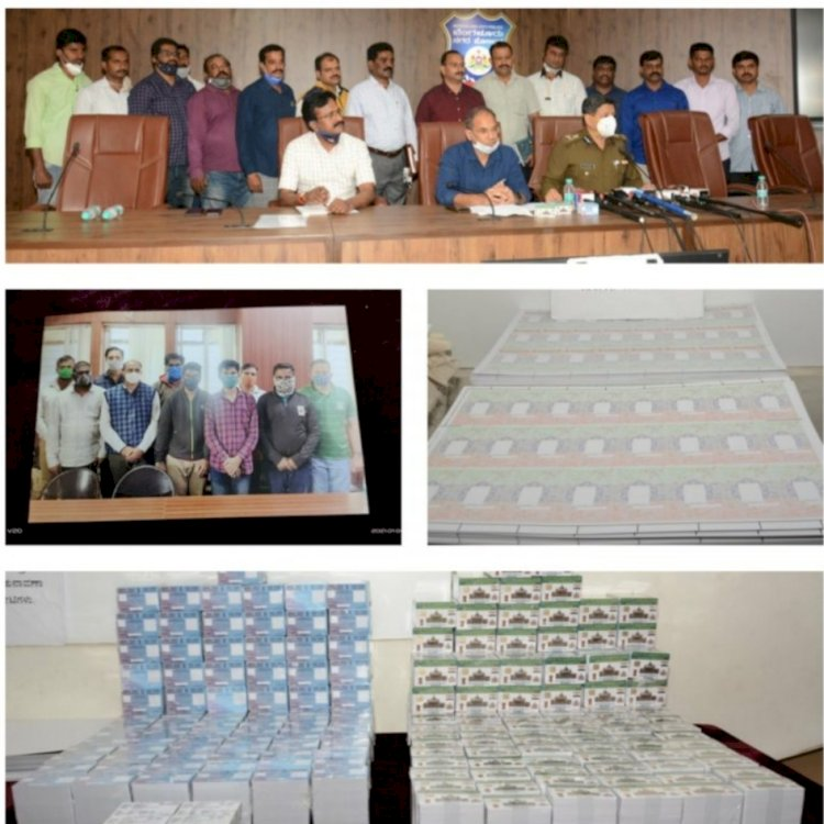 CCB busted Fake ID Card Racket : 10 member gang arrested 60k fake ID's seized: