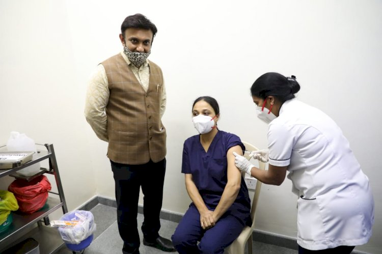 *Covid-19 vaccination launch is a historic moment: Health and Medical Education Minister Dr.K.Sudhakar*