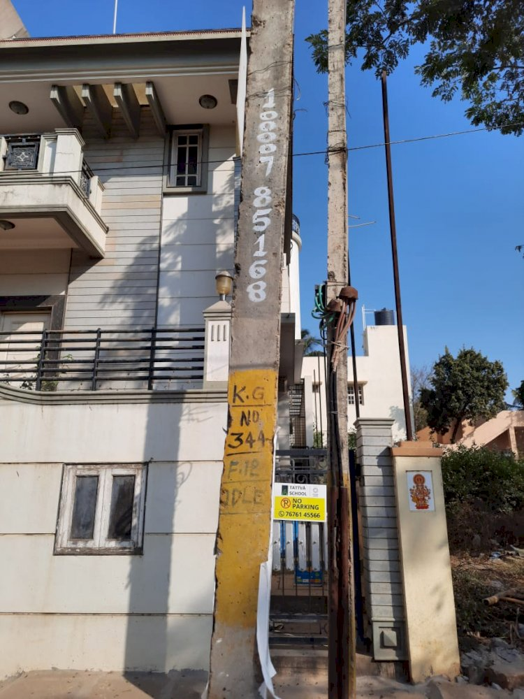 Contract worker electrocuted while laying Bescom line in Bengaluru :