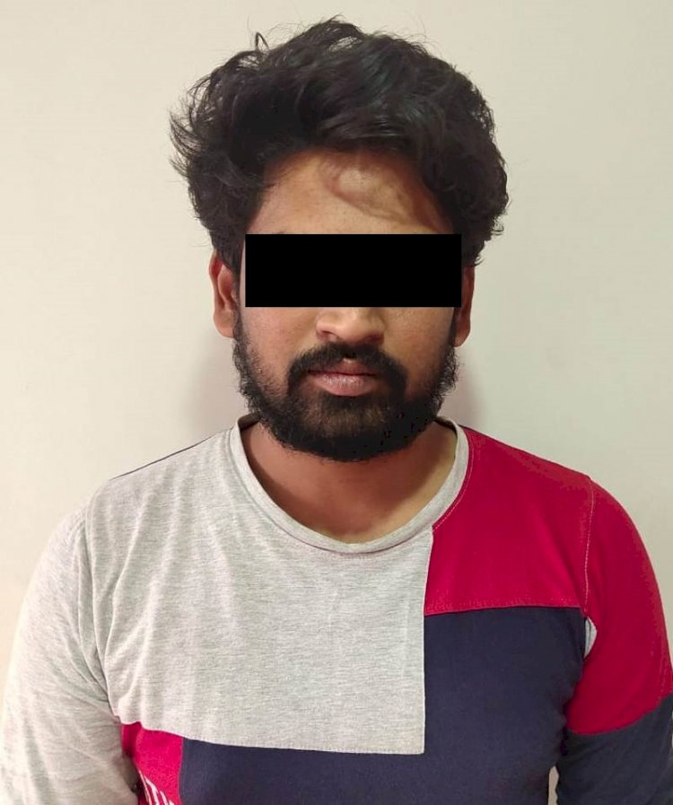 Jewel designer held,stolen silver articles Worth Rs.3 Lakhs Recovered: