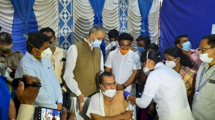 Get vaccinated without any hesitation; appeals Health & Medical Education Minister Dr.K.Sudhakar