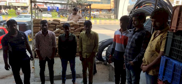 Inter-State Ganja trafficking network busted,Eight Notorious Peddlers arrested,681.8 Kg Ganja Seized by NCB:
