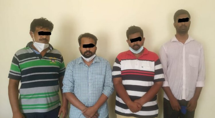 Five held including Manager of private bank for hoarding illegally Remdesivir 5 vials seized: