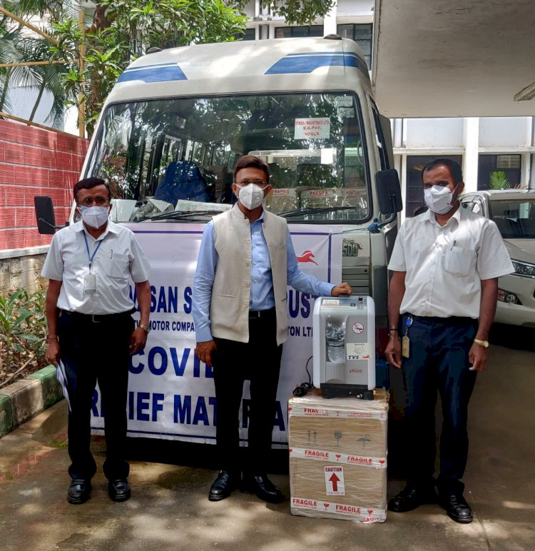 Private firms sponsor oxygen concentrators to BBMP
