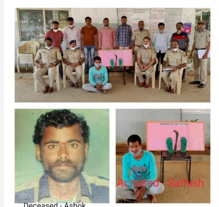 Man held,Clueless Murder case of Ragpicker detected by Hennur police after 22 days