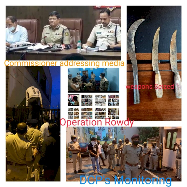 First time in the history Major raid by Bengaluru police,CCB,on Central Jail and Homes of History-Sheeters,weapons,SimCards, Narcotics,561 cases registered - Kamal Pant