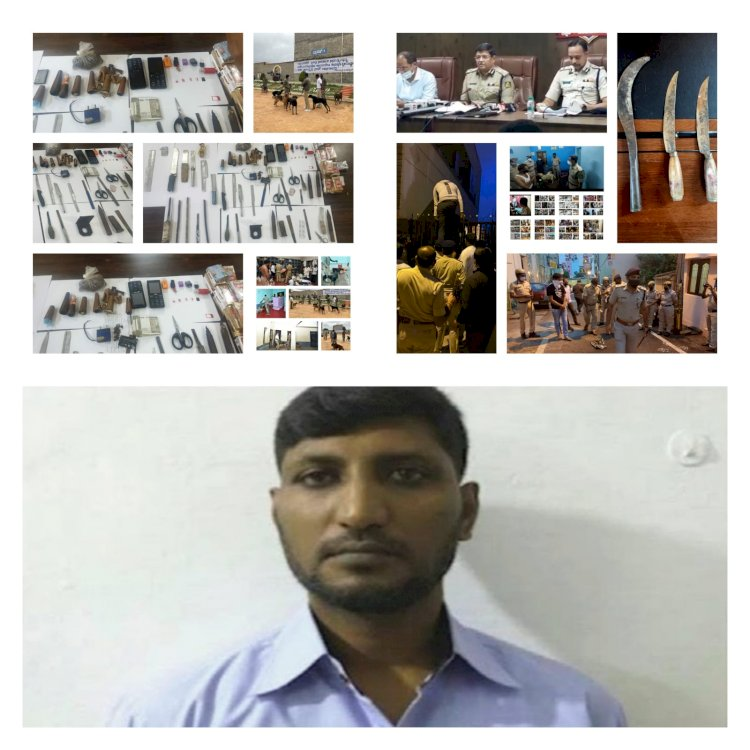 CCB officials booked Notorious Gangster Bombay Saleem Operating from Central Prison unabated