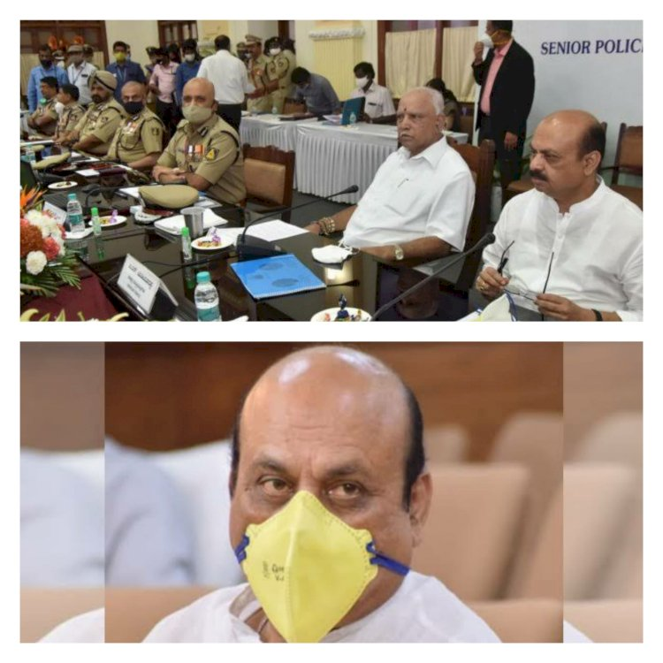 Karnataka state police is the first in the country to Sanction,scene of crime officers posts - Basavaraj Bommai.